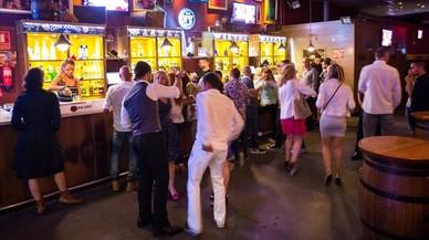 La discoteca Drinkking de la Zona Hermética, en mayo del 2016.