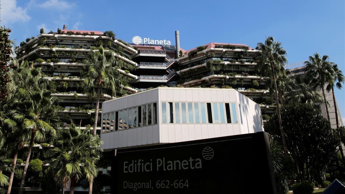 Edificio del Grupo Planeta en la Diagonal de Barcelona.