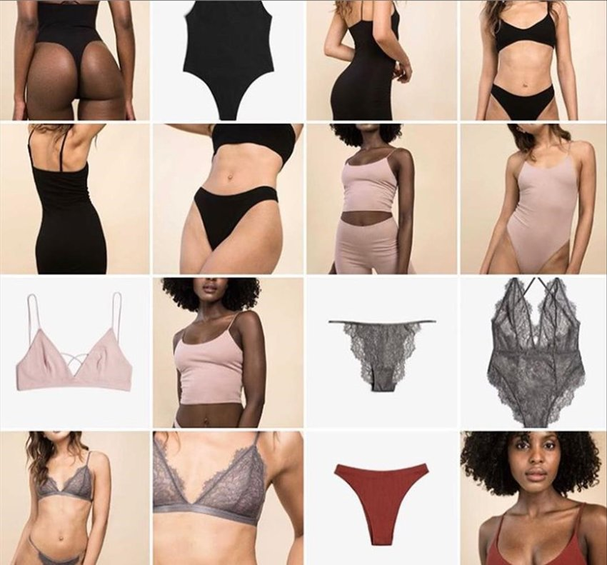 Emily Ratajkowsky lanza una sexi colección de ropa interior.