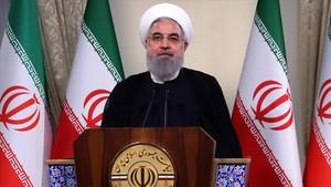 El presidente iraní Hasán Rohaní.