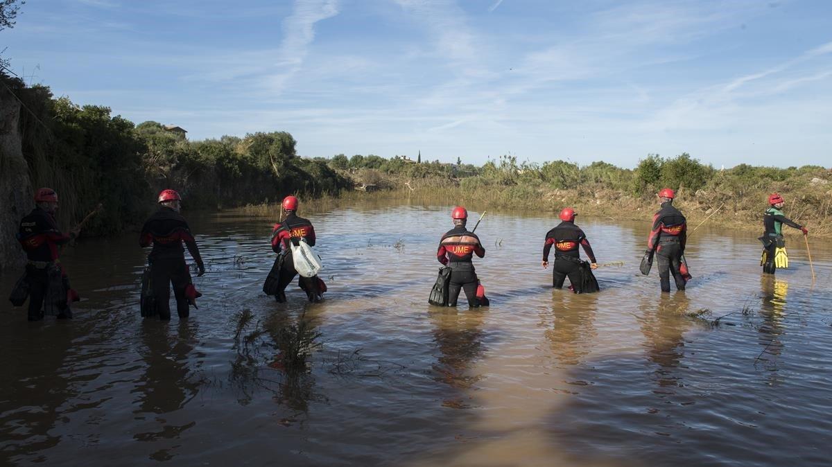 Equipos de búsqueda de los desaparecidos, en SIllot.