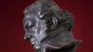 Estatuilla de los Goya