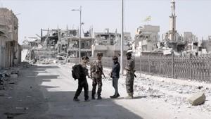 Évole, en la ciudadde Raqqa, en una imagen de Salvados.
