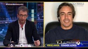 """Fernando Alonso saca su lado más competitivo en 'El hormiguero': """"Odio perder"""""""