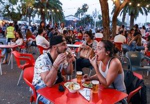 Ambiente del Festival Jazz & Food del 2018.
