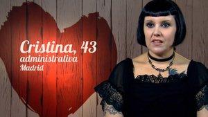 """Cristina, una sapiosexual en 'First dates': """"La gente me entra por el cerebro"""""""