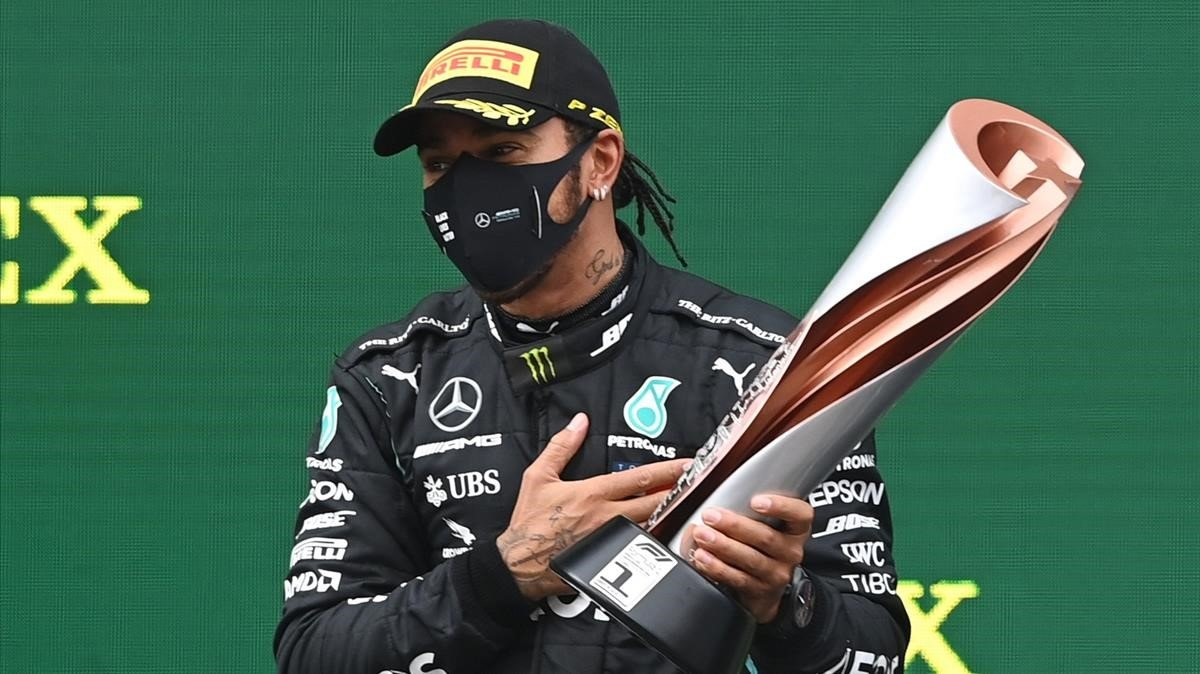 Hamilton (Mercedes) gana el GP de Turquía y se proclama campeón del mundo de F1.