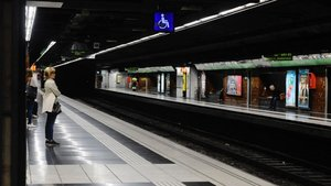 Estación de metrode Diagonal, hoy