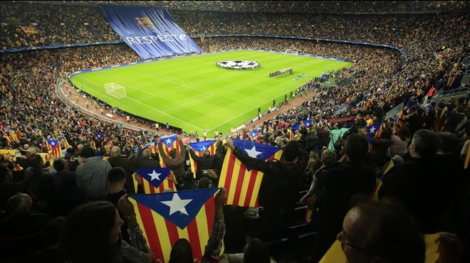 El Barça recurrirá al TAS por las 'estelades'