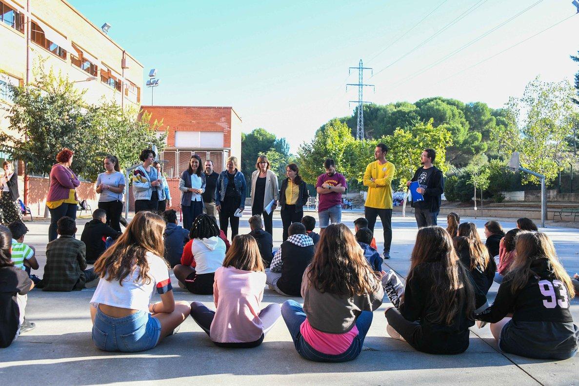 Inicio del curso escolar en el centro Teresa Altet de Rubí.