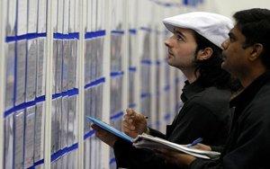 Inmigrantes buscando empleo en el Reino Unido.