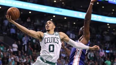 El futuro sonríe a los Celtics con Jayson Tatum