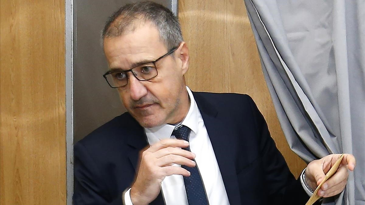 Jean-Guy Talamoni, líder independentista corso.