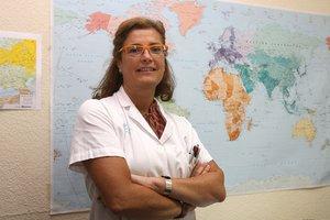 La jefa de epidemiología de la Vall d'Hebron, Magda Campins.