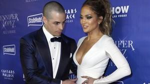 Jennifer Lopez y Casper Smart en Las Vegas, el pasado enero.
