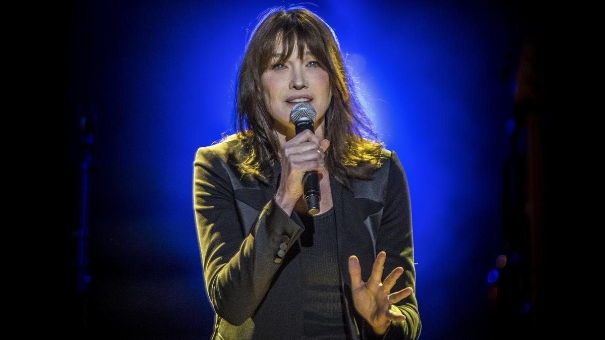 Carla Bruni, melodia de seducció