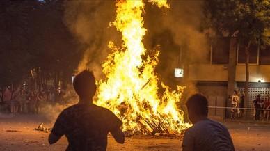 El foc i les fogueres de Sant Joan