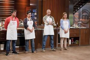 José Luis, Virginia, Ángel y Rocío, finalistas de la cuarta temporada de 'Masterchef'.