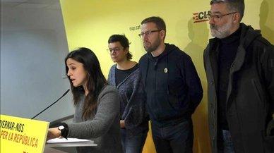 Un sector de la CUP viaja a Waterloo para abordar con Puigdemont el Consell de la República
