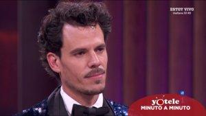 Juan Avellaneda, nuevo expulsado de 'Masterchef Celebrity'.