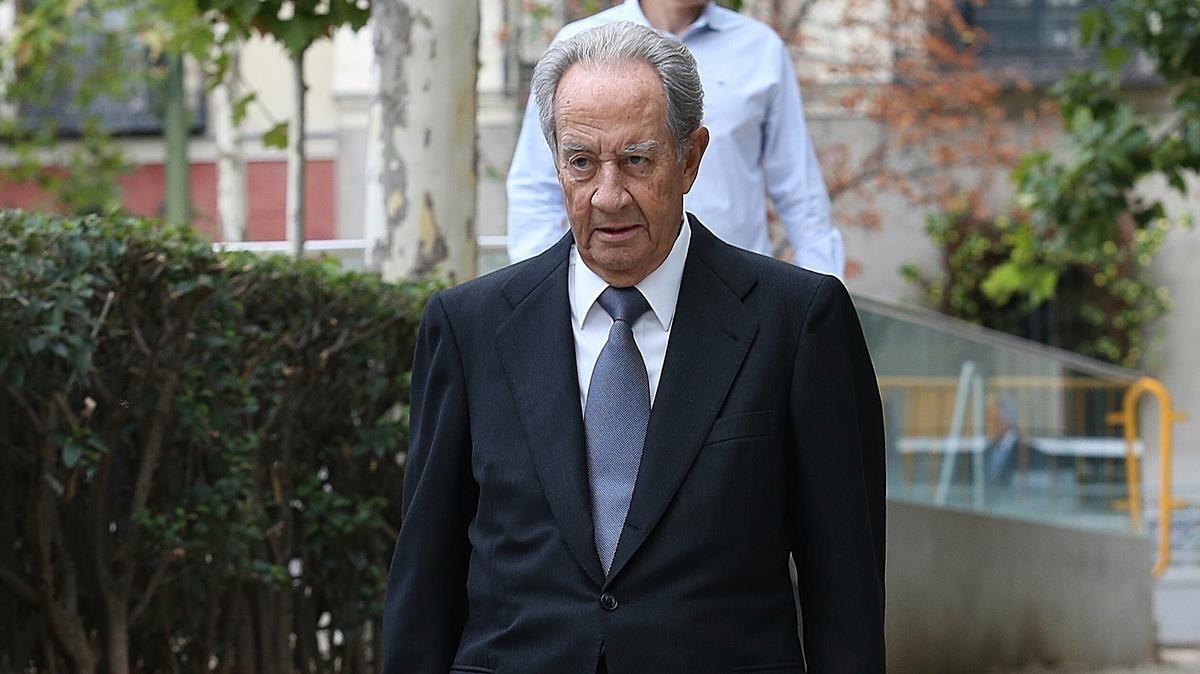 Villar Mir defiende que la adjudicación a OHL del tren de Navalcarnero fue limpia