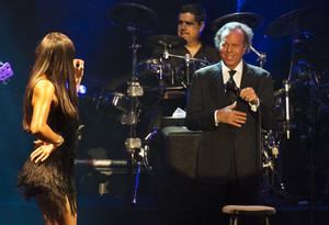 Julio Iglesias en un concert a Barcelona l'any 2013.
