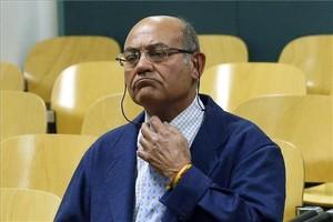 Lexpresident de la CEOE Gerardo Díaz Ferrán, a lAudiència Nacional, en una imatge darxiu.