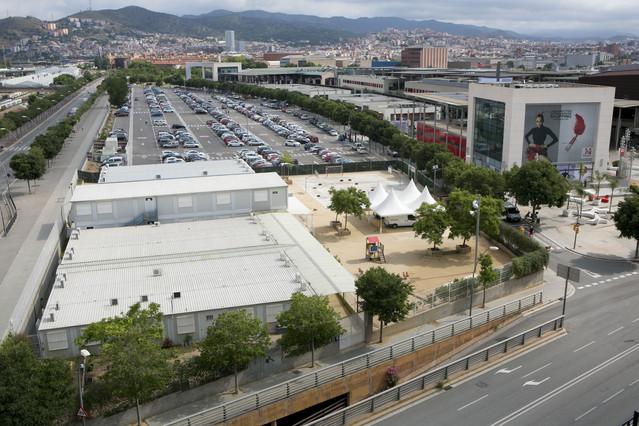 El centro comercial La Maquinista, en una imagen de julio del 2014.