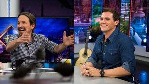 Albert Rivera y Pablo Iglesias, entre los invitados de 'El Hormiguero' esta semana