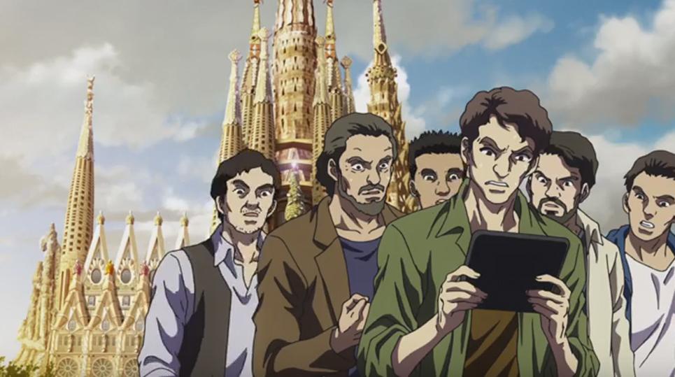 La Sagrada Família aparece (acabada) en el tráiler de la nueva película de 'Mazinger Z'