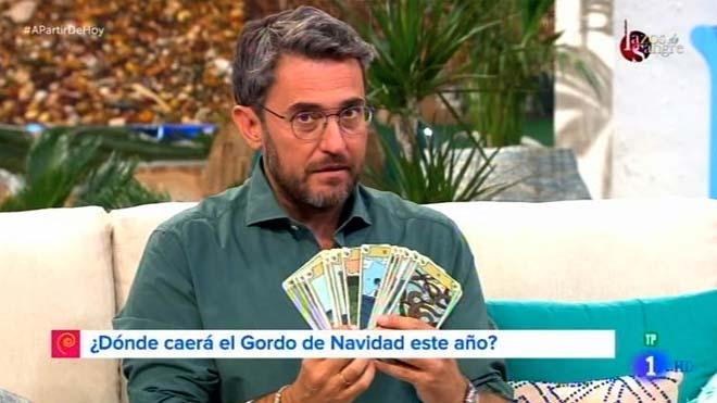 Máximo Huerta, en 'A partir de hoy' (TVE-1).