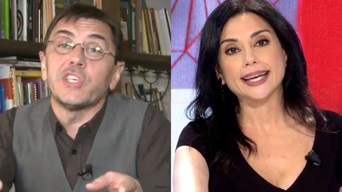 """Brutal enfrentamiento de Monedero con Marta Flich en 'Todo es mentira': """"Esto es una basura"""""""