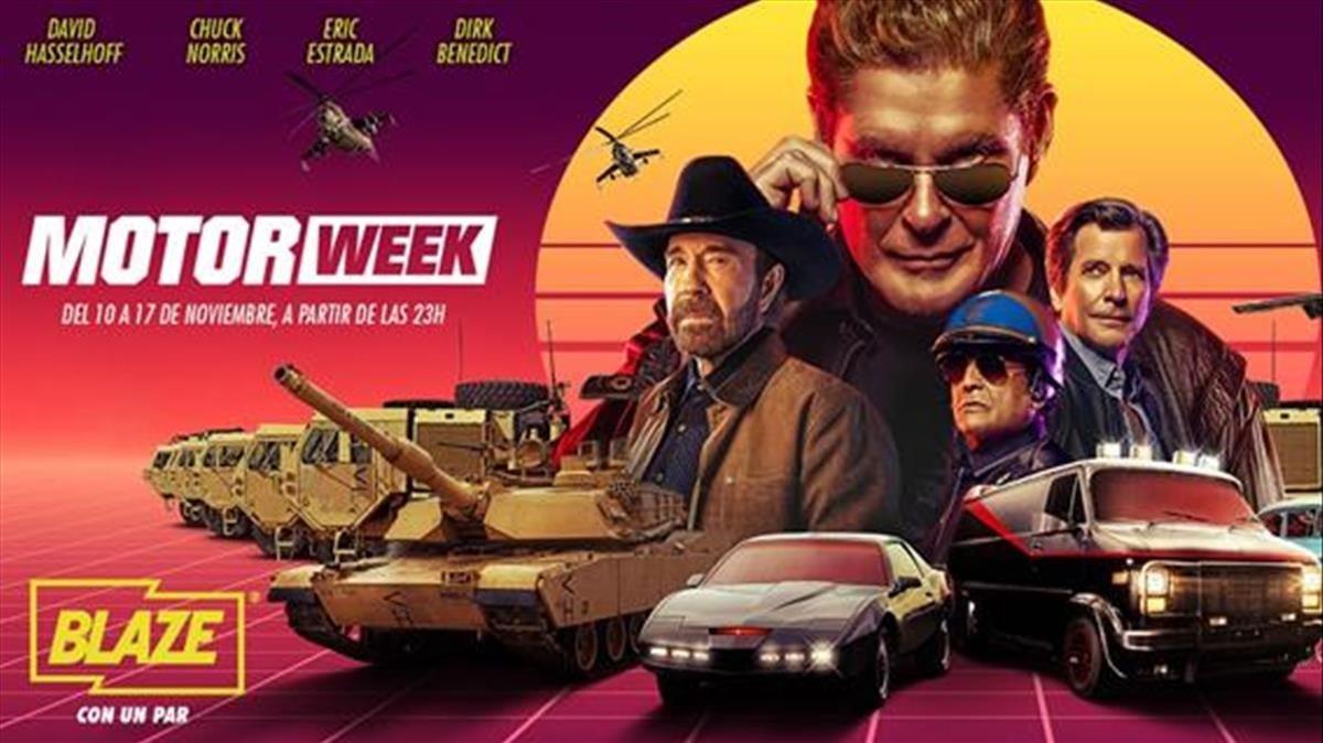 El especial 'Motor Week' de Blaze.