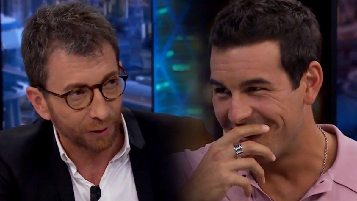 """Pablo Motos deja sin palabras a Mario Casas: """"Me han dicho que tienes los huevos enormes"""""""