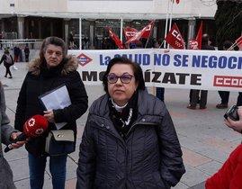 Una vídua víctima de l'amiant del Metro de Madrid carrega contra Garrido per les seves «contradiccions»