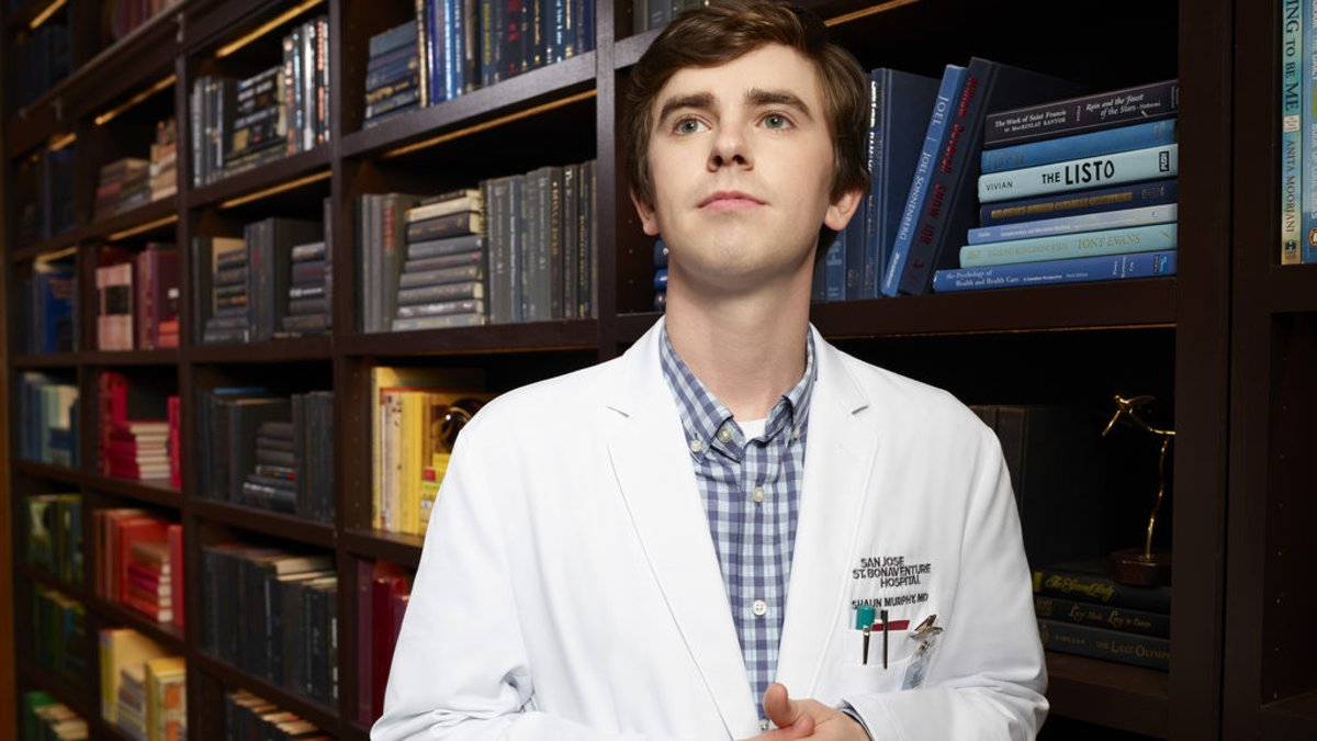 Dr. Murphy (Freddie Highmore), protagonista de 'The good doctor'.