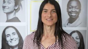Natalia Vicente, estibadora, una de las protagonistas del documental En la brecha.