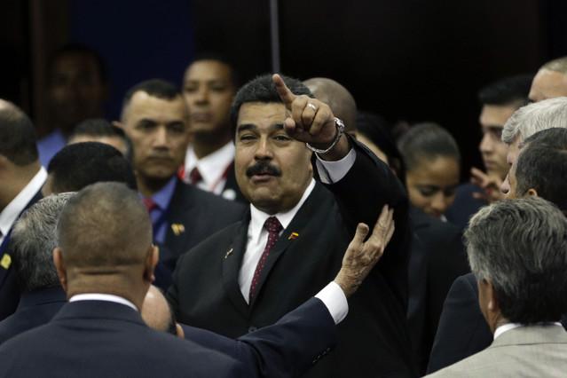 Nicolas Maduro, presidente de Venezuela, durante la Cumbre de las Américas celebrada en Panamá este fin de semana.