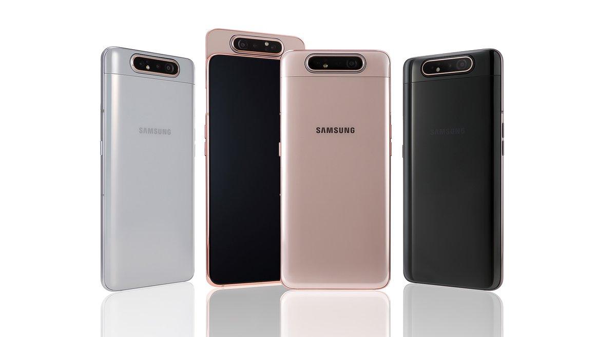Samsung desvela su nuevo Galaxy A80