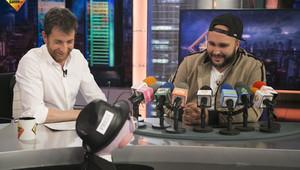 Pablo Motos, con Kiko Rivera, en El hormiguero.