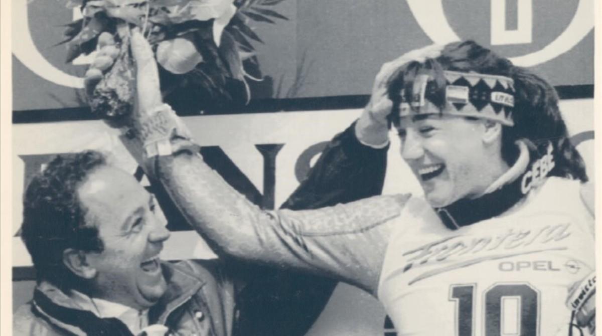 Paquito y Blanca Fernández Ochoa, dos auténticos mitos del deporte español y el esquí mundial.