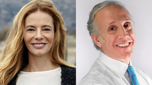 Paula Vázquez y Eduardo Inda.