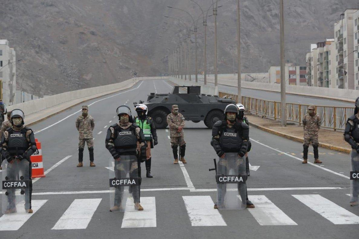 Peru Amplia La Cuarentena Por La Covid 19 Hasta El 30 De Setiembre