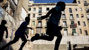 La Pista Negra, proyecto deportivo y comunitario en el corazón del Raval.