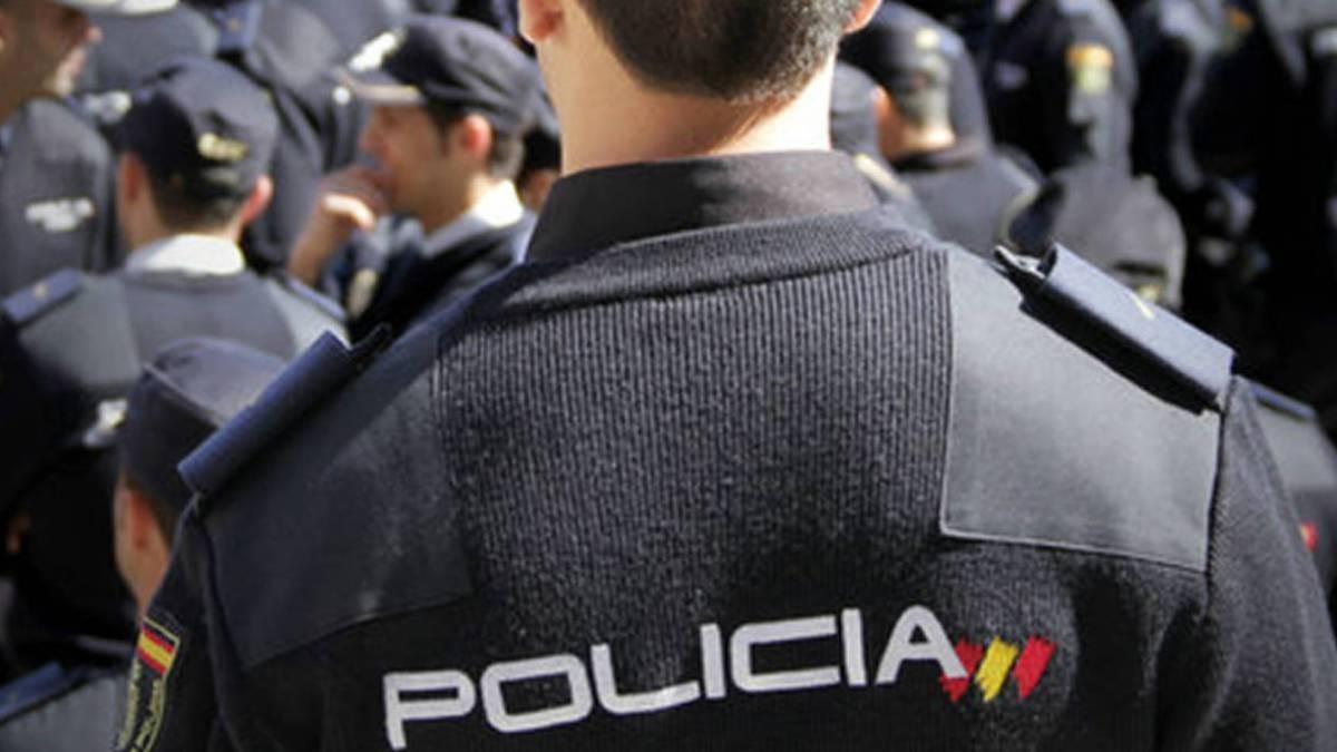 Agente de la Policía Nacional, en una foto de archivo.
