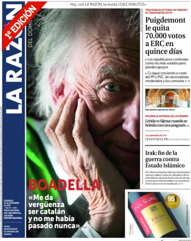 Rouco Varela y Albert Boadella, unidos contra la independencia