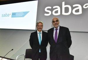 El Presidente de Saba, Salvador Alemany y el Consejero Delegado, Josep Martínez Vila.