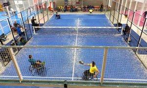 Quinta prueba de la Copa de España de Pádel en Silla disputada en Gavà