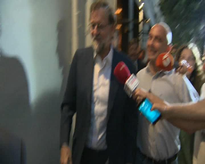 El expresidente del Gobierno Mariano Rajoy ha almorzado ayer jueves con un grupo de dirigentes del Partido Popular, entre los que figuraba Ana Pastor, Rafael Hernando y Fernando Martínez-Maillo.
