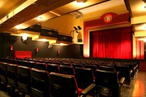 Aspecto del Teatre del Raval, donde tendrá lugar la muestra.
